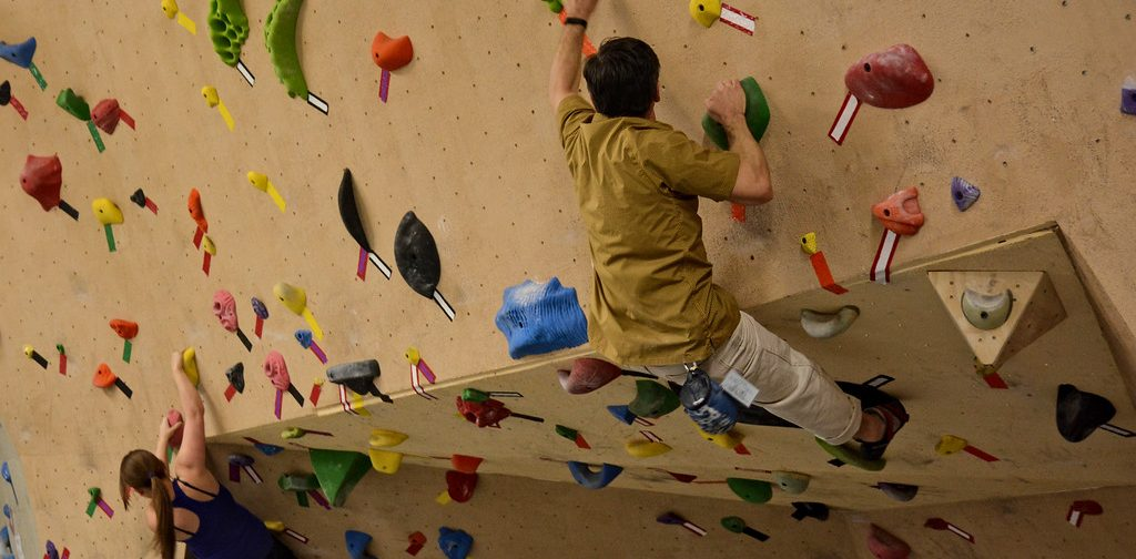Climbers at ascension rock club have a variety of different memberships and day pass options